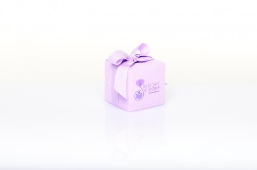 Immagine Cubo piantabile lilla